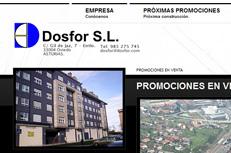 Contructora y promotora de viviendas Dosfor