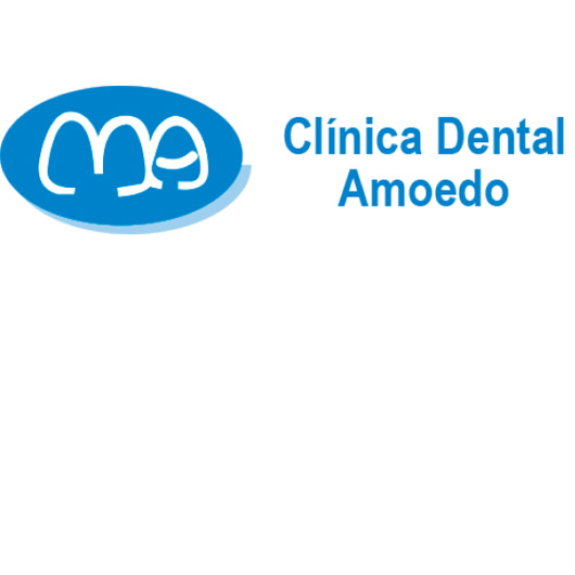 logo clínica dental amoedo