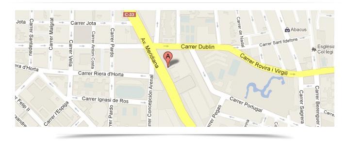 Localización Barcelona Sentido Común Internet