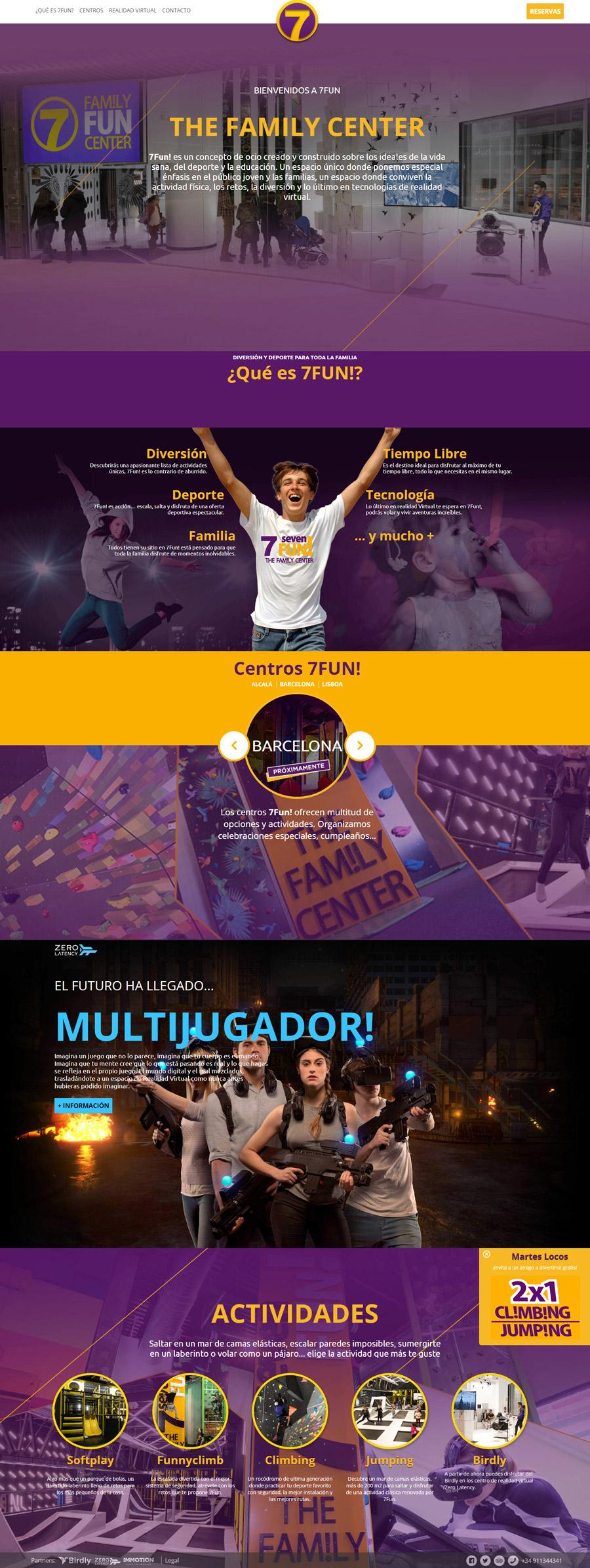 Web 7Fun Family Center