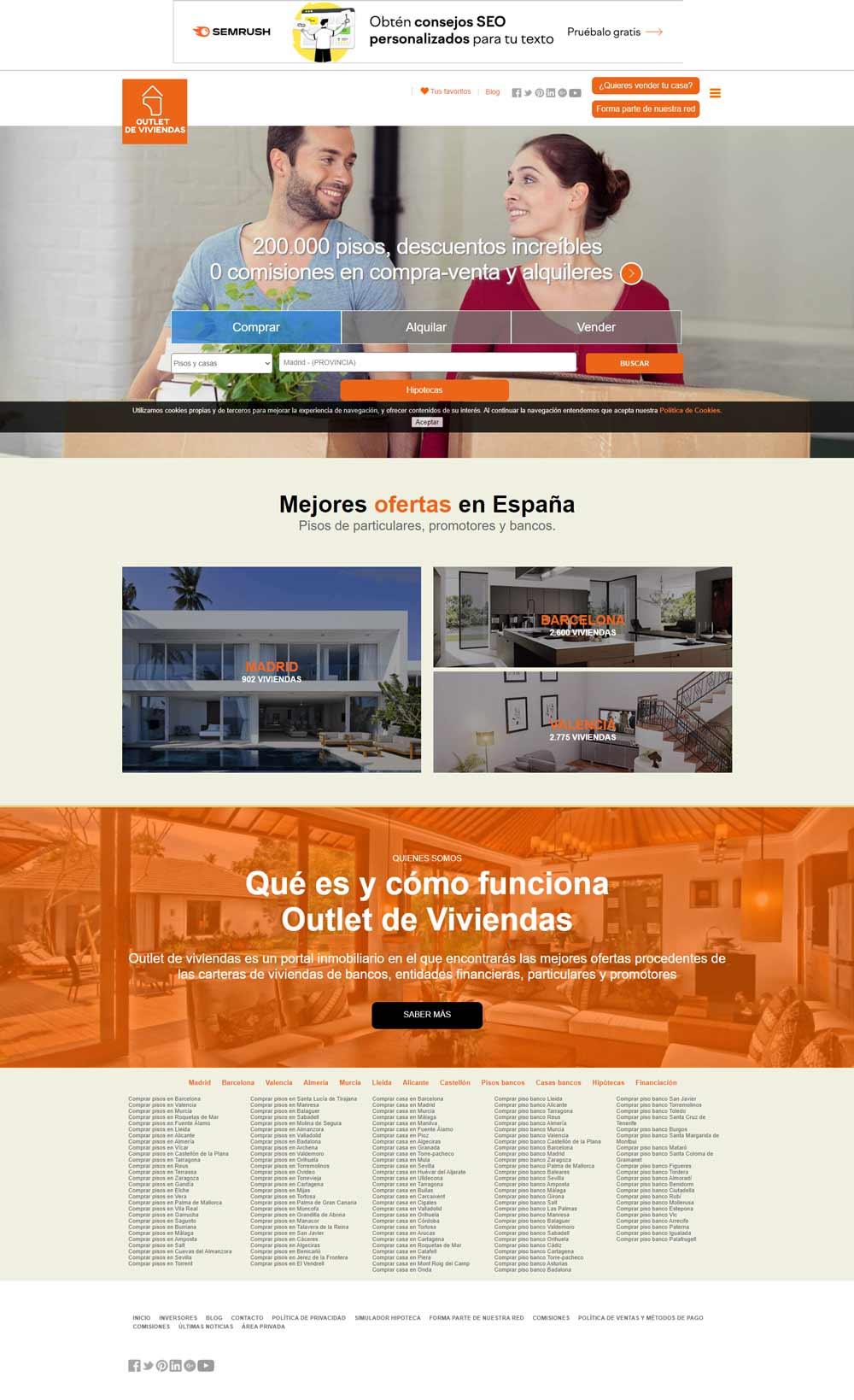 screencapture outlet viviendas
