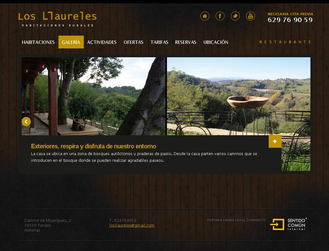 Los Llaureles, habitaciones rurales