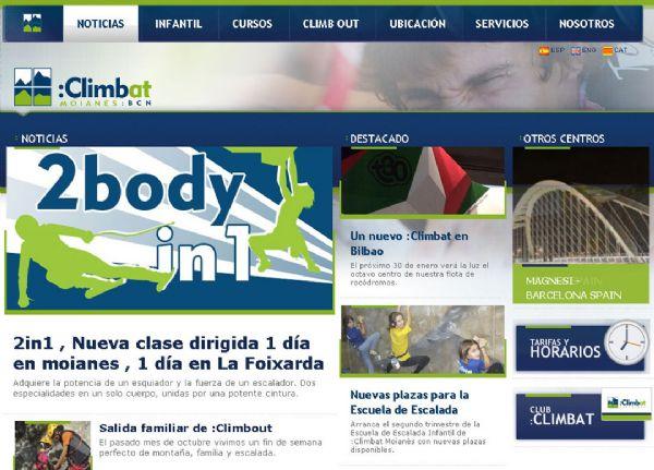 Web de Climbat