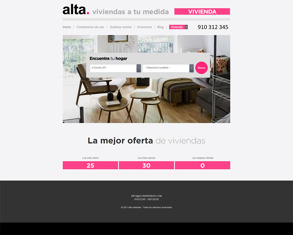 screencapture alta vivienda