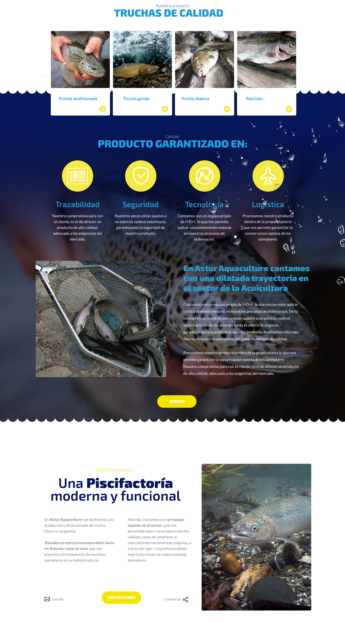 web astur aquaculture