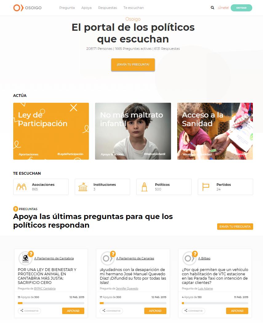Web osoigo