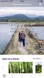 App móvil Turismo Villaviciosa
