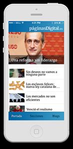 App móvil Páginas Digital