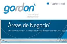 Web de Gordon International Management