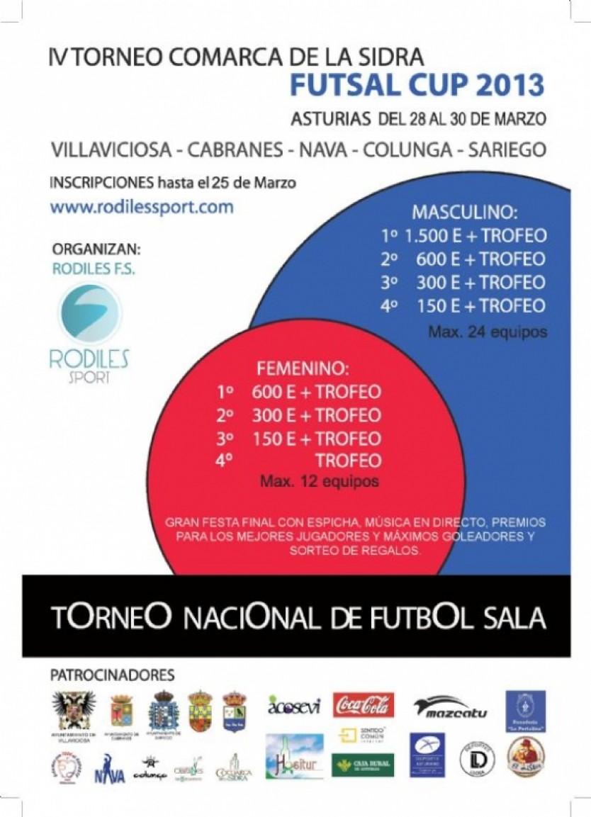 Cartel de la Rodiles Cup 2011