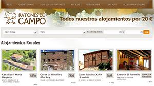 web de gestion de alojamientos rurales